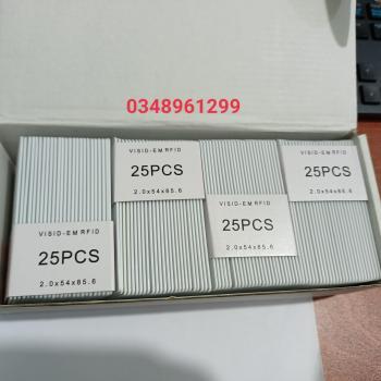 Thẻ cảm ứng proximity 125khz loại dày (1.88mm)
